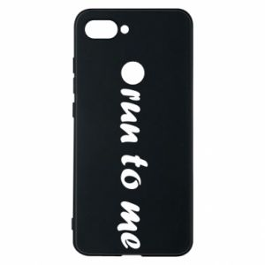 Phone case for Xiaomi Mi8 Lite Run to me