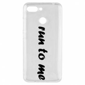Phone case for Xiaomi Redmi 6 Run to me