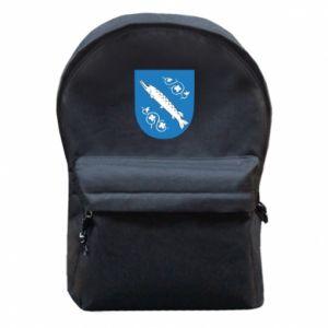 Plecak z przednią kieszenią Rybnik herb