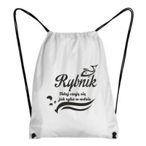 Plecak-worek Rybnik jak ryba w wodzie