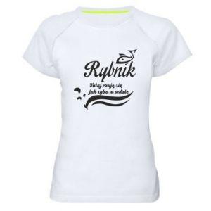 Koszulka sportowa damska Rybnik jak ryba w wodzie