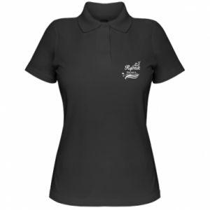 Koszulka polo damska Rybnik jak ryba w wodzie