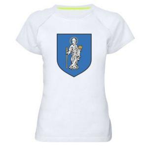 Damska koszulka sportowa Rybnik - PrintSalon