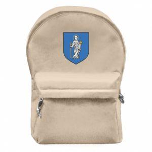 Plecak z przednią kieszenią Rybnik - PrintSalon