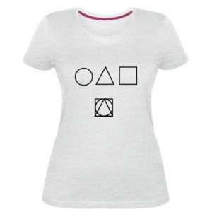 Damska premium koszulka Ryciny