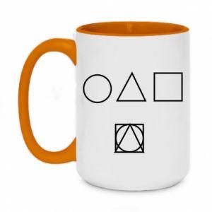 Two-toned mug 450ml Figures