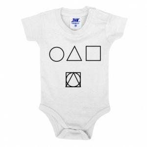 Baby bodysuit Figures