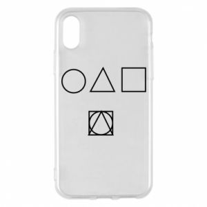 Phone case for iPhone X/Xs Figures