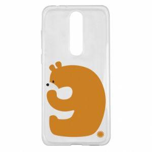 Etui na Nokia 5.1 Plus Rysunek niedźwiedź przez 9 lat