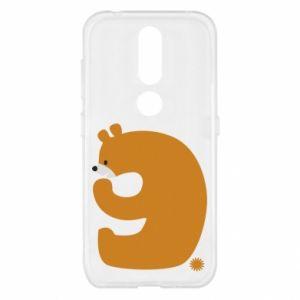 Etui na Nokia 4.2 Rysunek niedźwiedź przez 9 lat