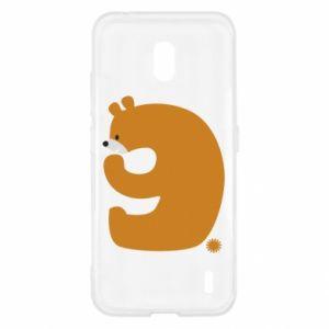 Etui na Nokia 2.2 Rysunek niedźwiedź przez 9 lat