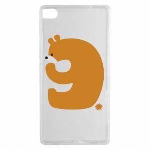 Etui na Huawei P8 Rysunek niedźwiedź przez 9 lat