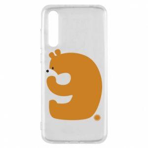 Etui na Huawei P20 Pro Rysunek niedźwiedź przez 9 lat