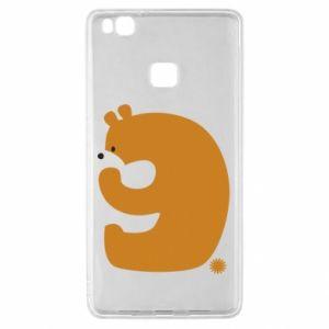 Etui na Huawei P9 Lite Rysunek niedźwiedź przez 9 lat