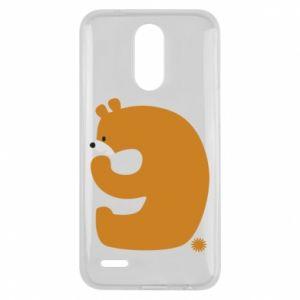 Etui na Lg K10 2017 Rysunek niedźwiedź przez 9 lat