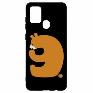 Etui na Samsung A21s Rysunek niedźwiedź przez 9 lat