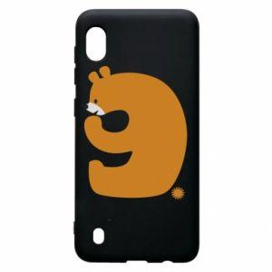 Etui na Samsung A10 Rysunek niedźwiedź przez 9 lat