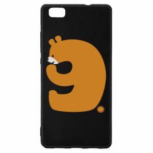 Etui na Huawei P 8 Lite Rysunek niedźwiedź przez 9 lat