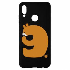 Etui na Huawei P Smart 2019 Rysunek niedźwiedź przez 9 lat