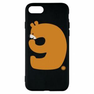 Etui na iPhone SE 2020 Rysunek niedźwiedź przez 9 lat