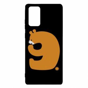 Etui na Samsung Note 20 Rysunek niedźwiedź przez 9 lat