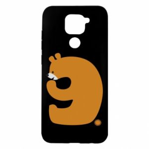 Etui na Xiaomi Redmi Note 9/Redmi 10X Rysunek niedźwiedź przez 9 lat