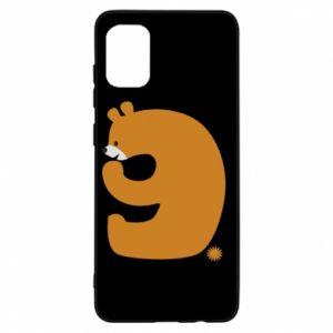 Etui na Samsung A31 Rysunek niedźwiedź przez 9 lat