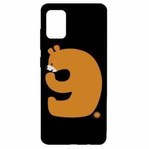 Etui na Samsung A51 Rysunek niedźwiedź przez 9 lat
