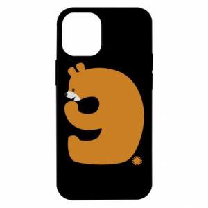 Etui na iPhone 12 Mini Rysunek niedźwiedź przez 9 lat