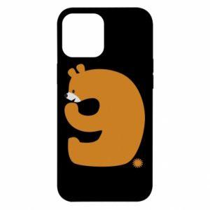Etui na iPhone 12 Pro Max Rysunek niedźwiedź przez 9 lat
