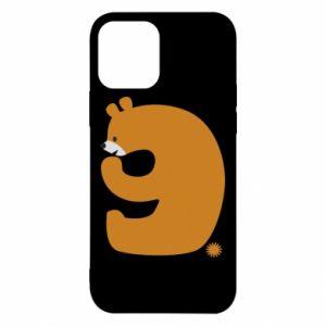 Etui na iPhone 12/12 Pro Rysunek niedźwiedź przez 9 lat