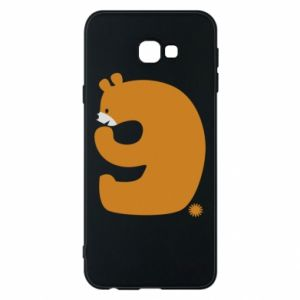 Phone case for Samsung J4 Plus 2018 Figure bear for 9 years