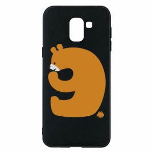 Phone case for Samsung J6 Figure bear for 9 years