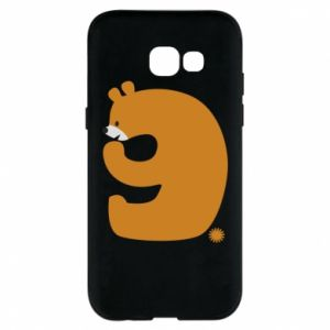 Phone case for Samsung A5 2017 Figure bear for 9 years