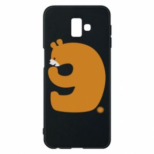 Phone case for Samsung J6 Plus 2018 Figure bear for 9 years