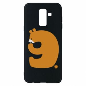 Phone case for Samsung A6+ 2018 Figure bear for 9 years