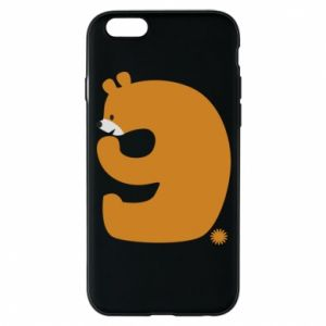Phone case for iPhone 6/6S Figure bear for 9 years