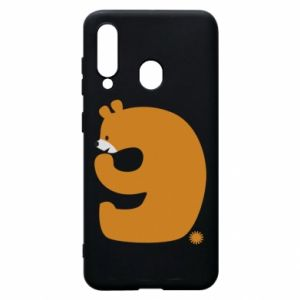 Phone case for Samsung A60 Figure bear for 9 years