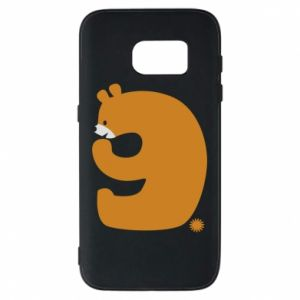 Phone case for Samsung S7 Figure bear for 9 years