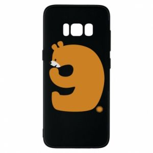 Phone case for Samsung S8 Figure bear for 9 years