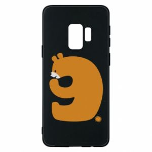 Phone case for Samsung S9 Figure bear for 9 years