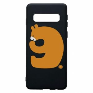 Phone case for Samsung S10 Figure bear for 9 years