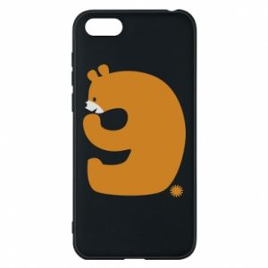 Phone case for Huawei Y5 2018 Figure bear for 9 years