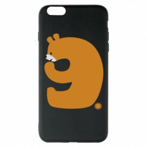 Phone case for iPhone 6 Plus/6S Plus Figure bear for 9 years
