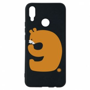 Phone case for Huawei P Smart Plus Figure bear for 9 years