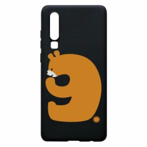 Phone case for Huawei P30 Figure bear for 9 years