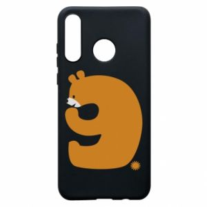 Phone case for Huawei P30 Lite Figure bear for 9 years