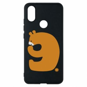 Phone case for Xiaomi Mi A2 Figure bear for 9 years