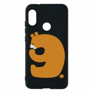 Phone case for Mi A2 Lite Figure bear for 9 years