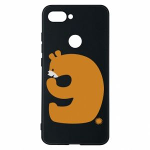 Phone case for Xiaomi Mi8 Lite Figure bear for 9 years